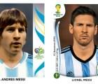 Galería: El paso de los años en los futbolistas a través de las estampas del álbum Panini