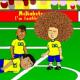 Animación del polémico penal sobre Fred en el partido inaugural