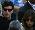 Diego Armando Maradona cacheteó a un periodista