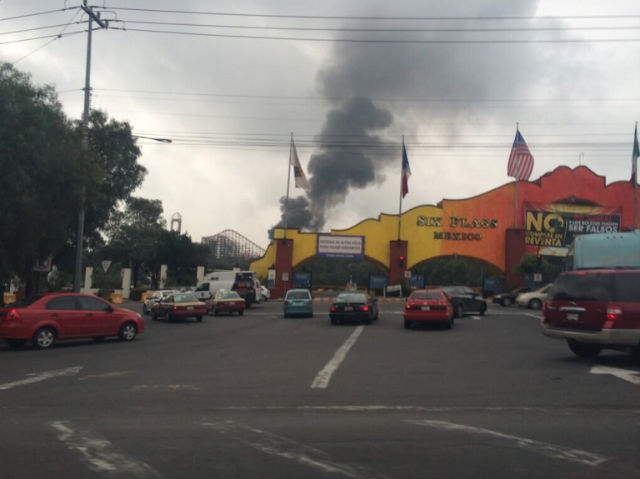 six flags incendio 5