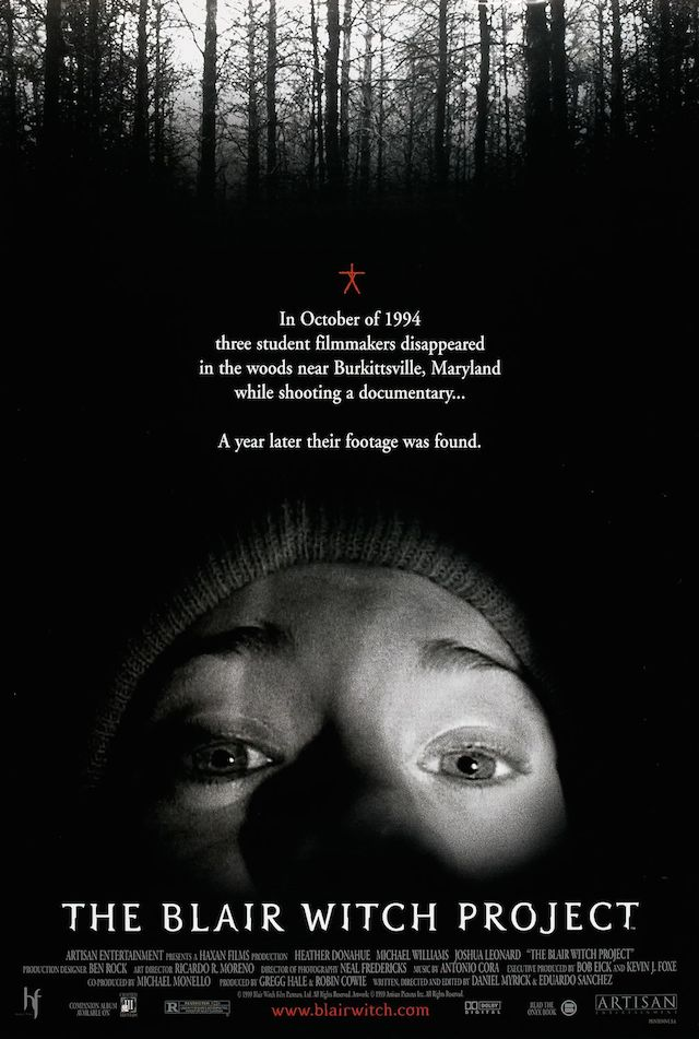 1999 The Blair Witch Project