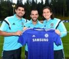 Video: La novatada de Fábregas, Diego Costa y Filipe Luis en el Chelsea