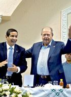 Mientras deuda de Pemex se hace pública, así festeja Romero Deschamps