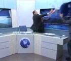 Periodista jordano se pone loco -otra vez- en debate televisivo
