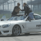 Así trató Lewis Hamilton a James Corden en una entrevista llena de velocidad