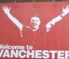 """Welcome to Vanchester"" el espectacular burlón del United contra el City"