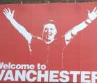 """""""Welcome to Vanchester"""" el espectacular burlón del United contra el City"""
