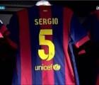 """Sergio Busquets usará el mítico """"5"""" de Carles Puyol"""