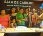 """En municipio de Tabasco, usan sala de cabildo para """"Baby Shower"""""""
