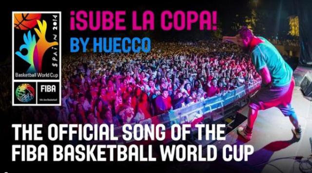 La canción oficial del Mundial de Basquetbol 2014