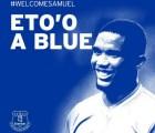 Oficial: Everton anunció el fichaje de Samuel Eto'o