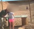 Por error, niña de 9 años mató a su instructor de tiro