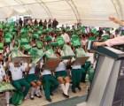 En Chiapas a la escuela con el Partido Verde...