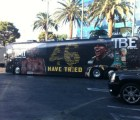 Y en la imagen del día... el autobús de Floyd Mayweather Jr.