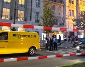 Geldtransporter-Überfall am Berliner Kudamm