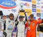 Juan Carlos Bolaños Jr. triunfó en la segunda carrera de La Súper Copa Telcel en Aguascalientes