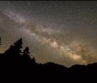Un time-lapse de la Vía Láctea desde la Tierra