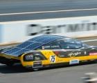 El récord de velocidad establecido por un automóvil solar