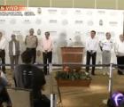 Ortega, Karam y Osorio Chong hablan sobre Ayotzinapa