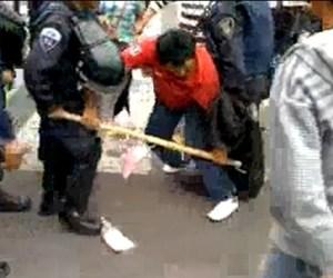 """Policías del DF detienen a """"peligroso"""" vendedor de algodones de azúcar"""