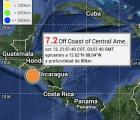Nicaragua emite alerta de tsunami por fuertes sismos