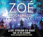 Vean en vivo el concierto de Zoé desde Puerto Rico
