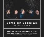 Love of Lesbian anuncia 'showcase' en la Ciudad de México