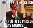 Aquí están los memes de Peña y sus #EmergenciasMexicanas911