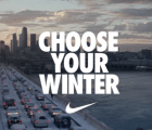 """Choose your winter"", la campaña de Nike para sus productos invernales"