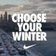 """""""Choose your winter"""", la campaña de Nike para sus productos invernales"""