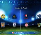 Estos son los horarios de los cuartos de final del Apertura 2014 (actualizados)
