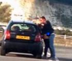 Cachan a pareja teniendo sexo en el estacionamiento