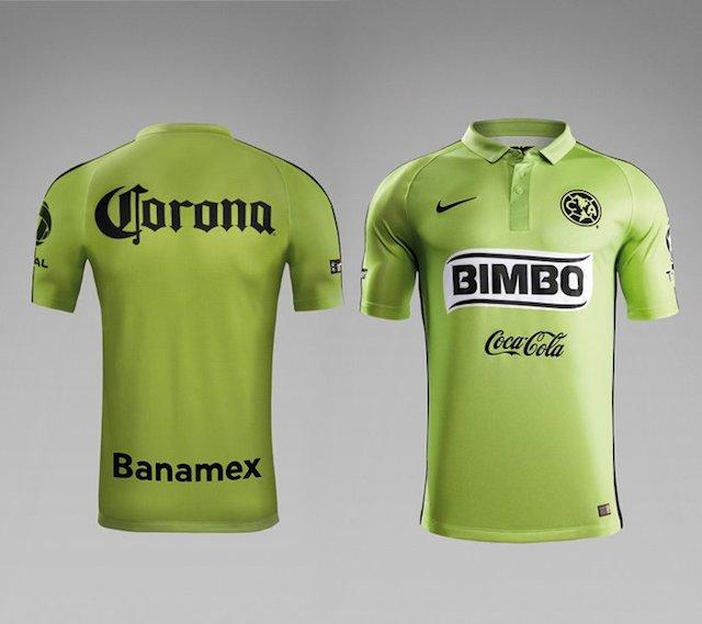 El Am Rica Ya Tiene Su Tercer Uniforme Para El Clausura 2015