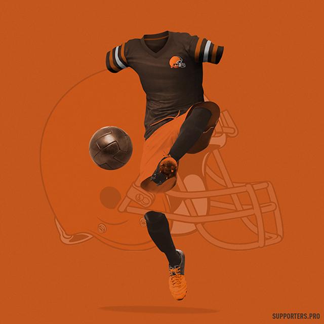 Los Uniformes De La Nfl Como Si Fueran De Futbol 183 Antena