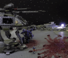 Video: Stop-motion de Itchy & Scratchy y Star Wars, con Lego