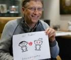 Bill Gates da regalo navideño a afortunada usuaria de Reddit