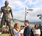 Y en la imagen del día... la estatua de Cristiano Ronaldo
