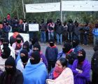 EZLN recibe a padres de Ayotzinapa por evento de aniversario