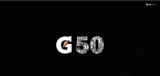 Gatorade lanza una canción por sus 50 años de vida