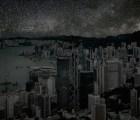 Ciudades iluminadas solo por estrellas