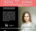 Juana Molina en el festival Luces de Invierno