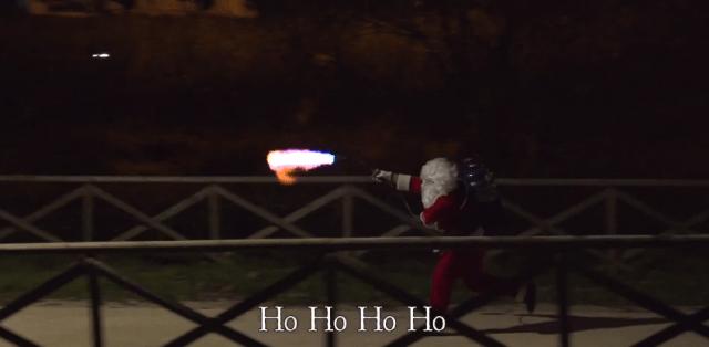 La broma del Psicótico Santa Claus
