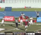 ¿El touchdown más milagroso y espectacular del año?