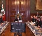 Gabinete se reúne con EPN tras llamado a comparecer