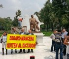 GDF da predio a Azerbaiyán ¿para la estatua de Aliyev?