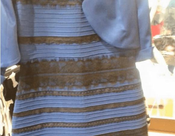 ¿De qué color lo ves? El vestido que divide opiniones  alrededor del mundo