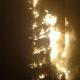 Se incendia rascacielos en Dubai