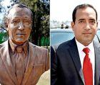 Alcalde de Cuautitlán exhibe su monumento; pagó 35 mil pesos por él