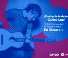 ¡Tenemos ganador para ir a ver a Ed Sheeran a Colombia con Sopitas.com y Spotify!