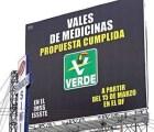 Ordenan al Verde que retire su publicidad de vales de medicina